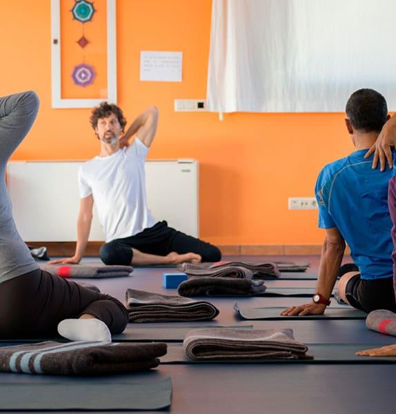 sessions de ioga a Girona